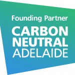 Carbon Neutral Adelaide FP Logo w shape gradient